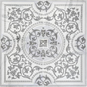 3609-0006  бьянка каррара белый панно 90х90 (комп. из 4 шт) LASSELSBERGER | LB Ceramica