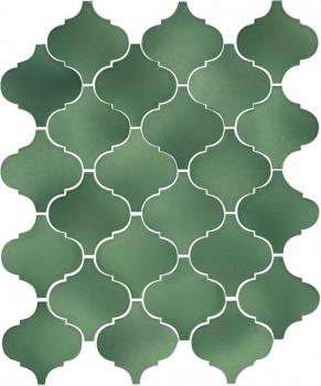 Арабески Майолика зелёный 26*30