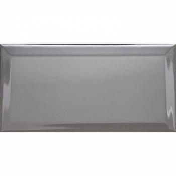 Настенная плитка (кабанчик) Biselado Cemento Brillo 10x20 - Dar Ceramics