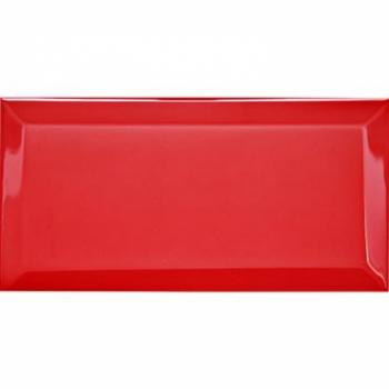 Настенная плитка (кабанчик) Biselado Fuego Brillo 10x20 - Dar Ceramics