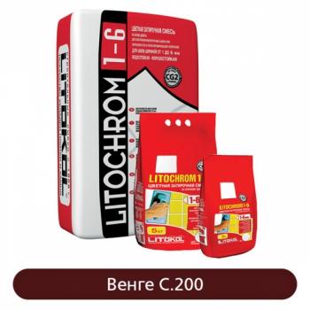 Затирка Litochrom 1-6 C.200 Венге