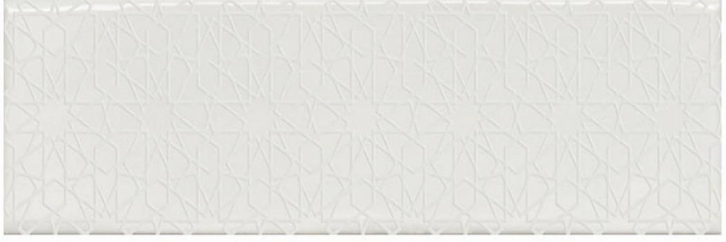 Плитка Decocer FLORENCIA Decor SUPER BLANCO 7,5x30 см Микс