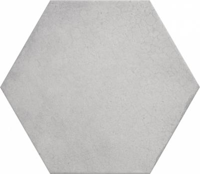 Плитка напольная (керамогранит) 24950 HERITAGE HEXAGONO Snow 17,5х20 см