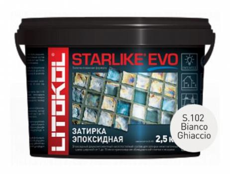 Starlike Evo S.102 Bianco Ghiaccio 2.5 кг эпоксидная затирка