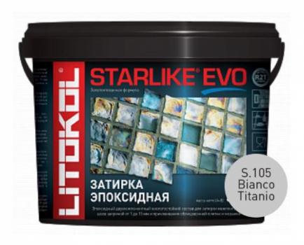 Starlike Evo S.105 Bianco Titanio 5 кг эпоксидная затирка