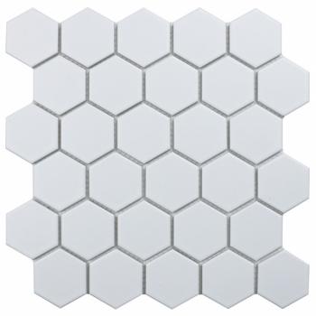 Кер. мозаика Hexagon small White Matt (MT31000/IDL1005) 271х282х6