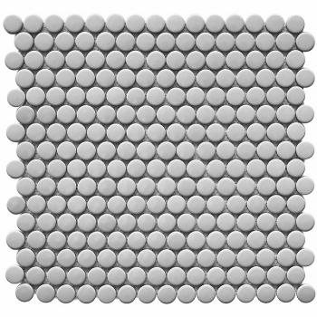 Кер. мозаика Penny Round Grey Glossy (NK50096) 315х309х6