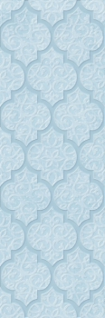 alisia blue decor 02 30*90 GRACIA CERAMICA