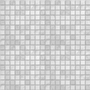 dolomiti bianco матовая 15x15x4 мм (лист 30,5х30,2 см)