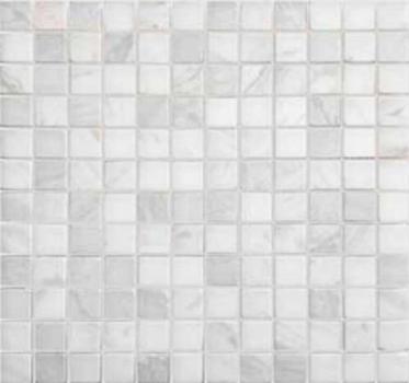 dolomiti bianco матовая 23x23x4 мм (лист 29,8х29,8 см)