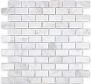 dolomiti bianco полированная 23x48x7 мм (лист 29,8х29,8 см)
