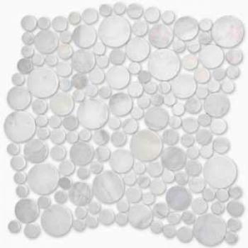 dolomiti bianco bolli (камушки) 27,8*27,8