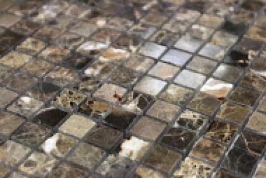 emperador dark полированная 23x23x4 мм (лист 29,8х29,8 см)