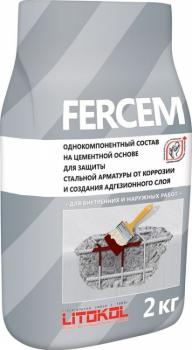 FERCEM 2 кг – состав для защиты стальной арматуры и создания адгезионного слоя