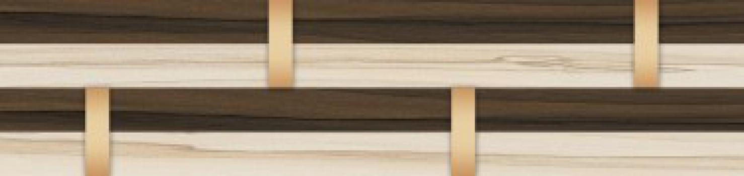 frieze welness / бордюр велнесс широкий 25*6 Golden Tile 107351