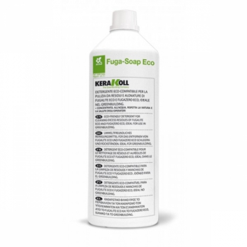 Очиститель затирки Kerakoll Fuga-Soap Eco бесцветный 1л для плитки и мрамора