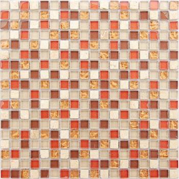 Мозаика Naturelle - Istanbul 30,5x30,5х0,4 см (чип 15х15х4 мм) Caramelle