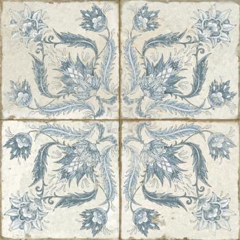 Francisco Segarra FS Ivy blue 45х45x1,05 см плитка напольная 45*45 см, 26171