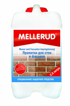 MELLERUD пропитка для стен и фасадов 2,5 л 342