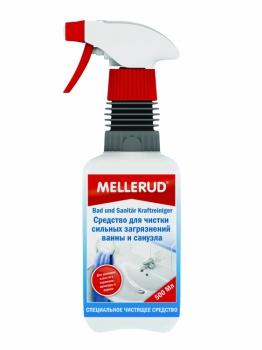 MELLERUD средство для чистки сильных загрязнений ванны и санузла 0,5л. 332