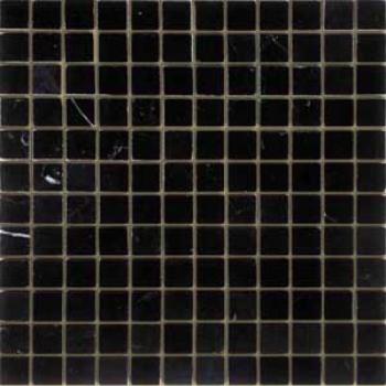 nero orientale полированная 23x23x7 мм (лист 29,8х29,8 см)