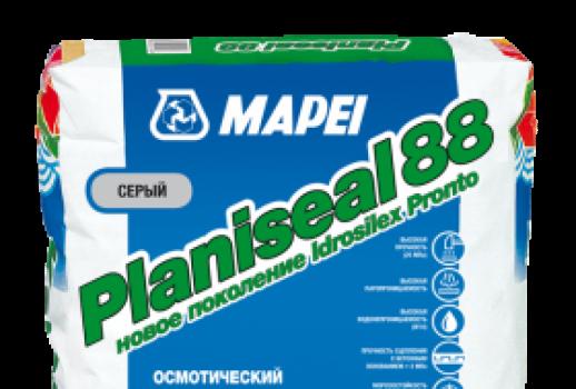 Гидроизоляция PLANISEAL 88 (раньше - IDROSILEX Pronto) 25 кг
