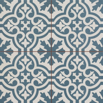 Timeless BERKELEY SLATE BLUE 45x45 см pre-cut