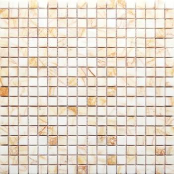 ragno rosso полированная 15x15x7 мм (лист 30,5х30,2 см)