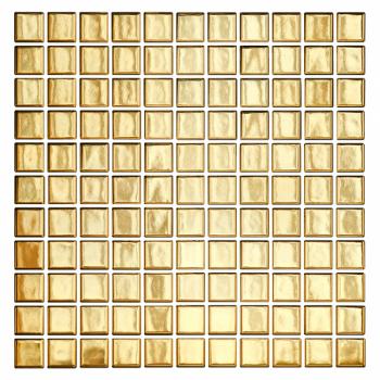 Золотая мозаика 25x25 мм