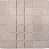 Мозаика 48X48 Crema Marfil Matt (JMST073) 305x305x8, натур. мрамор