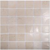 Мозаика 48X48 Crema Marfil Polished (JMST072) 305x305x4, натур. мрамор