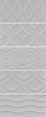 Авеллино серый структура mix 7,4*15