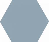 Аньет голубой темный 20*23,1 плитка настенная