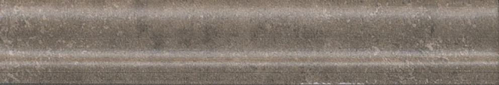 Бордюр Багет Виченца коричневый темный 15*3