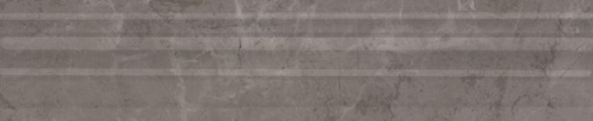 Бордюр Багет Гран Пале серый 25*5,5