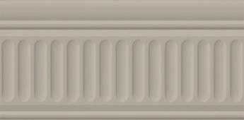 Бордюр Бланше серый структурированный 20*9,9