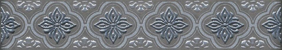 Бордюр Марчиана серебро 20*3,6