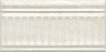 Бордюр Олимпия беж светлый структурированный 20*9,9