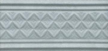 Бордюр Пикарди структура голубой 15*6,7