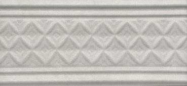 Бордюр Пикарди структура серый 15*6,7