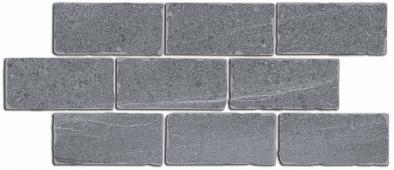 Бордюр Роверелла серый мозаичный 34,5*14,7