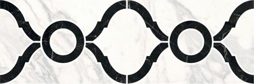 Бордюр Фрагонар наборный белый 30*9,9