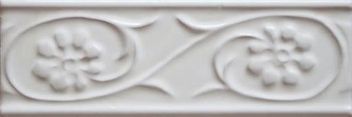 Бордюр Paris Metro Petalos Blanco 5x15 см