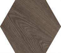 Брента коричневый 20*23,1 керамогранит шестигранник