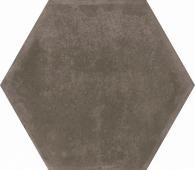 Виченца коричневый темный 20*23,1 керамогранит шестигранник