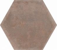 Виченца коричневый 20*23,1 керамогранит шестигранник