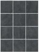 Дегре чёрный, полотно 30*40, из 12 частей 9,9*9,9