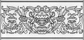 Декор Авеллино 7,4*15