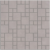 Декор Александрия серый мозаичный 30*30