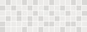 Декор Бельканто мозаичный 15*40 белый